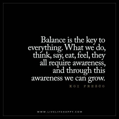 thaw blog balance