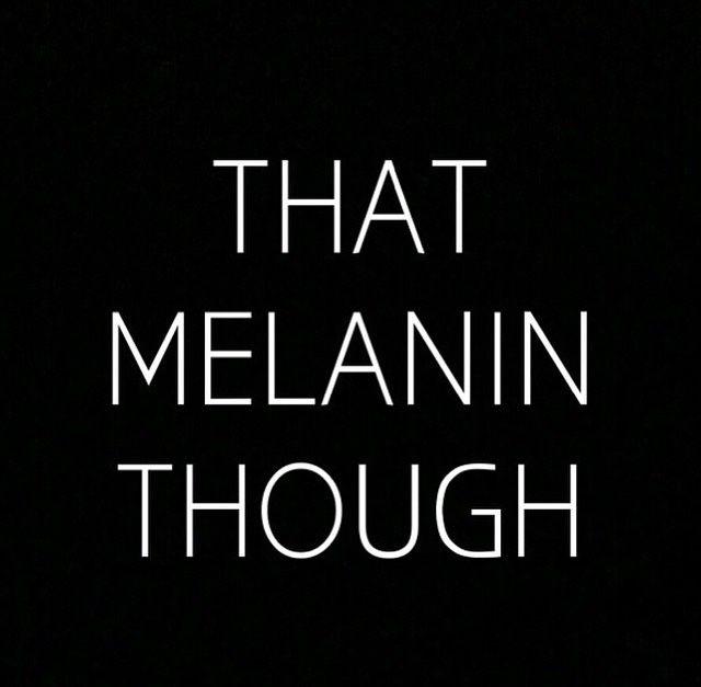 thaw blog melanin