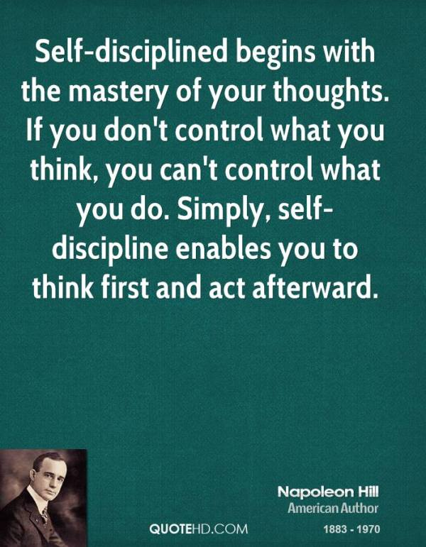 Mastery by Napoleon Hill THAW blog post