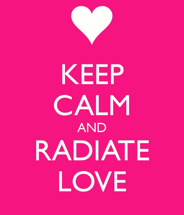 Radiate Love THAW blog