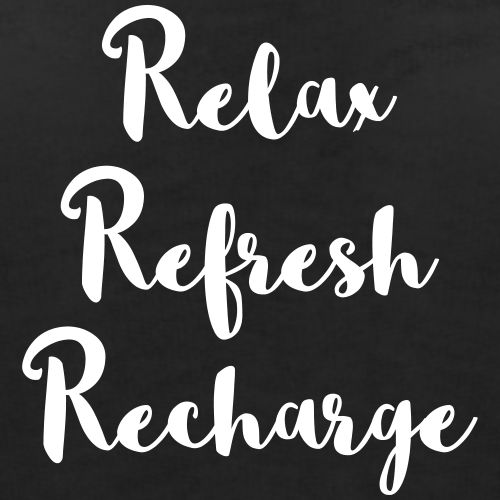 RelaxRefreshRecharge THAW blog