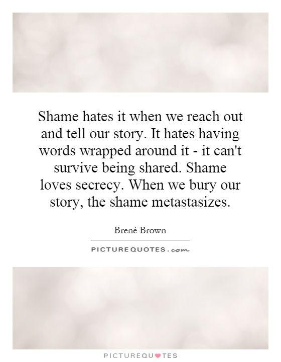 Shame THAW blog
