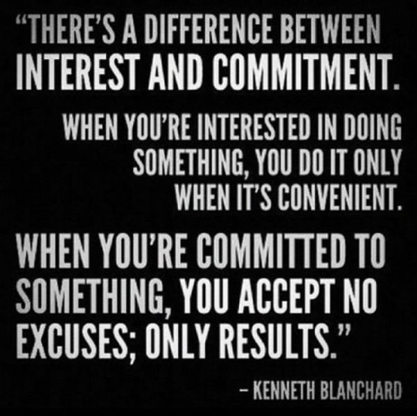Commitment THAW blog
