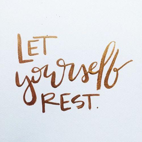 Rest THAW blog
