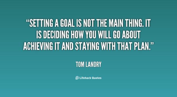 Goal Setting THAW blog