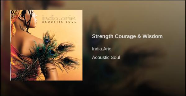 Strength, Courage & Wisdom THAW blog